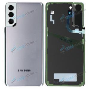 Kryt Samsung Galaxy S21 Plus 5G (G996) batérie strieborný Originál