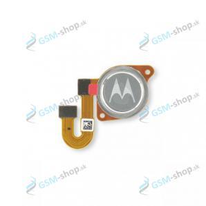 Flex Motorola Moto G 5G (XT2113) a snímač odtlačku strieborný Originál