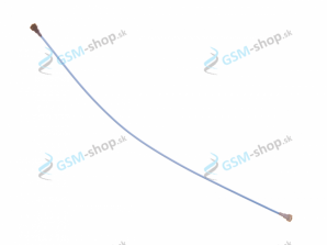 Koaxiálny káblik Samsung Galaxy A20e (A202)  modrý Originál