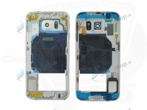 Stred Samsung Galaxy S6 G920F biely Originál