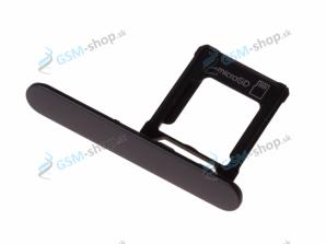 Sim a Micro SD držiak Sony Xperia XZ1 Compact čierny Originál