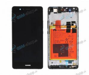 LCD Huawei P9 Lite a dotyk čierny s krytom Originál
