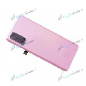 Kryt Samsung Galaxy S20 (G980) batérie ružový Originál