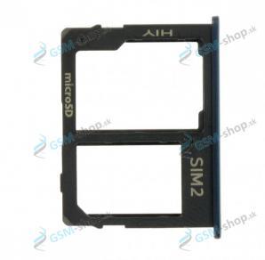 Sim a microSD držiak Samsung Galaxy J415, J610 čierny Originál