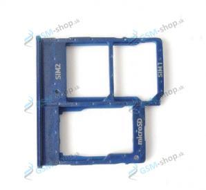 SIM a SD držiak Samsung Galaxy A20e, A40 modrý Originál