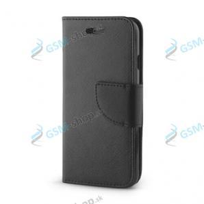Púzdro Samsung Galaxy A12 (A125) knižka čierna s prackou
