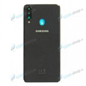 Kryt Samsung Galaxy A20s (A207) batérie čierny Originál