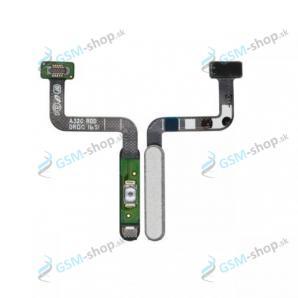 Flex Samsung Galaxy A32 5G (A326) pre zapínanie a snímač odtlačku biely Originál