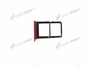 Sim a Micro SD držiak Huawei P30 čierny Originál