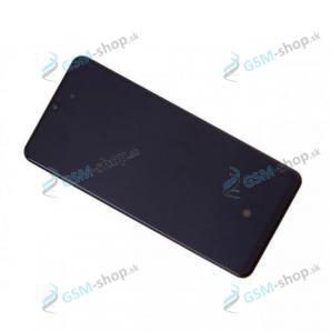 LCD Samsung Galaxy A31 (A315) a dotyk čierny s krytom Originál