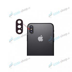 Sklíčko kamery iPhone X čierne OEM