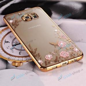 Silikónové púzdro Samsung Galaxy A80 (A805) kvety lux