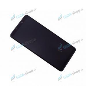 LCD Samsung Galaxy A9 2018 (A920F) a dotyk s krytom čiernym Originál