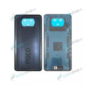 Kryt Xiaomi Poco X3 NFC zadný šedý Originál
