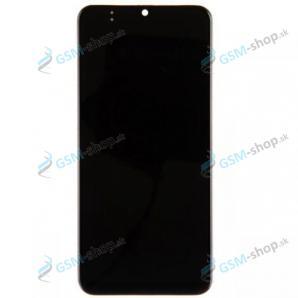 LCD Samsung Galaxy M21 (M215F) a dotyk čierny s krytom Originál