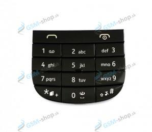 Klávesnica Nokia Asha 202 čierna Originál