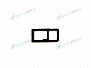 Sim držiak Nokia 6 Dual Sim strieborný Originál