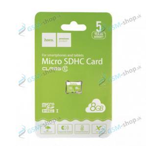 Pamäťová karta HOCO MicroSDHC 8 GB trieda 10