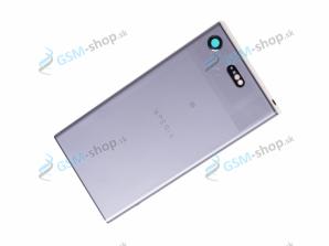 Kryt Sony Xperia XZ1 Compact zadný strieborný Originál