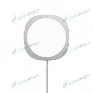 Magneticka bezdrôtová nabíjačka MagSafe Qi C04 Fast charge 15W strieborná