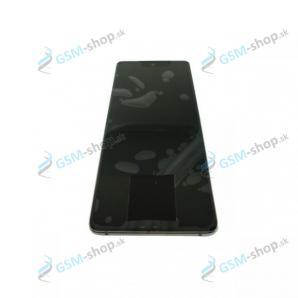 LCD Samsung Galaxy S20 FE 5G (G781) a dotyk modrý s krytom Originál