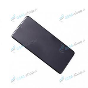 LCD displej Samsung Galaxy A71 (A715F) a dotyk čierny s krytom Originál
