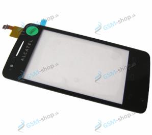 Sklíčko Alcatel 4030D a dotyk čierny Originál