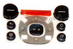 Klávesnica SonyEricsson W850i malá čierna Originál