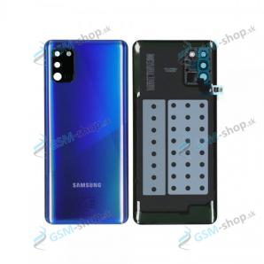 Kryt Samsung Galaxy A31 (A315) batérie modrý Originál