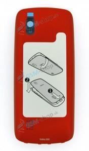 Kryt Nokia Asha 300 zadný červený Originál
