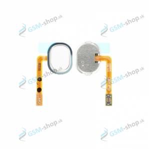 Flex Samsung Galaxy A40 (A405) a home tlačidlo biele Originál