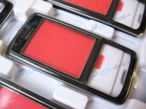 Kryt Nokia 6288 čierny predný Originál