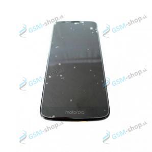 LCD displej Motorola Moto G6 Play (XT1922) a dotyk čierny s krytom Originál