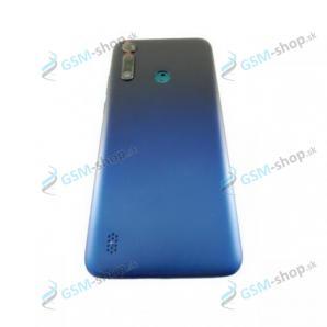 Kryt Motorola Moto G8 Power Lite (XT2055) zadný modrý Originál