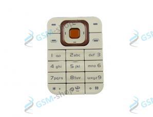 Klávesnica Nokia 7370, 7373 ružová Originál