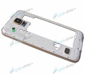 Stred Samsung Galaxy S5 G900F zlatý Originál