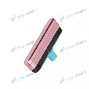 Tlačidlo zapínania Samsung Galaxy S21 5G, S21 Plus 5G ružové Originál