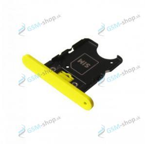Sim držiak Nokia Lumia 1020 žltý Originál