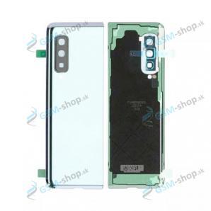 Kryt Samsung Galaxy Fold (F900) batérie strieborný Originál