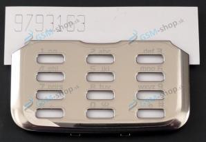 Kryt Nokia N82 klávesnice strieborný Originál