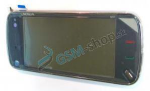 Kryt Nokia N97 predný čierny