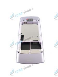 Stred Nokia X3-02 zadný fialový Originál
