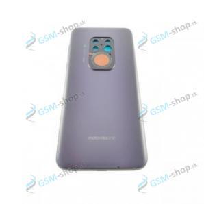 Kryt Motorola One Zoom (XT2010) zadný fialový a stred Originál