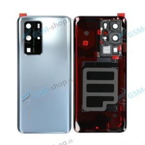 Kryt Huawei P40 Pro batérie zadný strieborný Originál