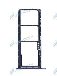Sim a Micro SD držiak Huawei Y6s, Honor 8A čierny Originál