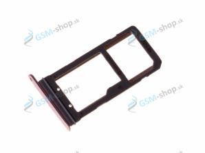 Sim a microSD držiak Samsung Galaxy S7 Edge G935F ružový Originál