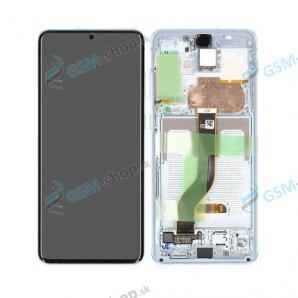 LCD Samsung Galaxy S20 Plus (G985, G986) a dotyk s krytom modrým Originál