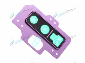 Kryt kamery Samsung Galaxy Note 9 N960F fialový Originál