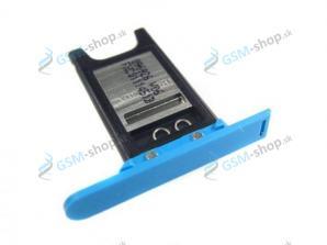 Sim držiak Nokia N9-00 modrý Originál