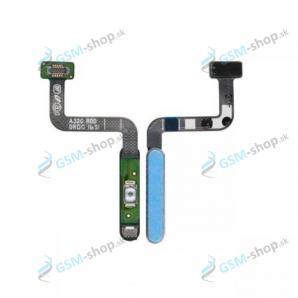 Flex Samsung Galaxy A32 5G (A326) pre zapínanie a snímač odtlačku modrý Originál